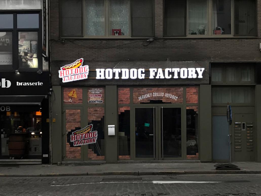 Hotdog Factory – Antwerpen – Elit Design